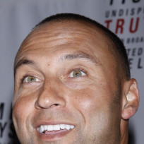 Derek Jeter Close Up