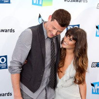 Lea Michele and Cory Monteith Photo