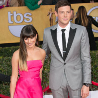 Lea Michele and Cory Monteith Image