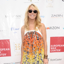 Dina Lohan Red Carpet Pose