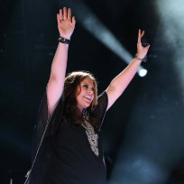 Hillary Scott on Stage