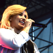 Demi Lovato on Tour