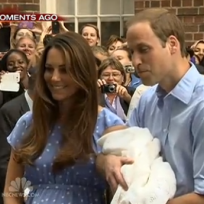 Royal Baby and Parents