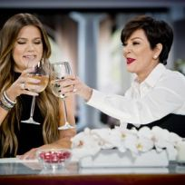 Khloe and Kris