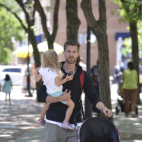 Jason Hoppy with Bryn