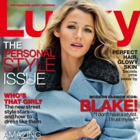 Blake Lively Lucky Cover