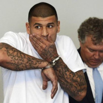 Aaron Hernandez Court Photo