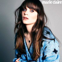 Zooey Deschanel Marie Claire Photo