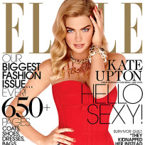 Kate Upton Elle Cover
