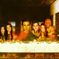 Scott Disick Last Supper Pic