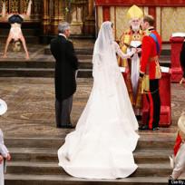 Miley Cyrus at Royal Wedding