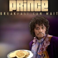Prince breakfast can wait cover