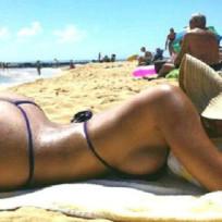 Myla Sinanaj Bikini Thong