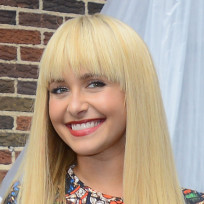 Hayden Panettiere with Bangs