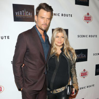 Josh duhamel with fergie