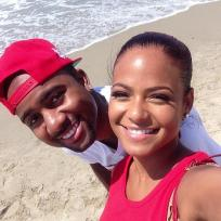Christina Milian and Jas Prince