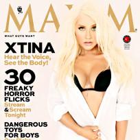 Christina Aguilera Maxim Cover