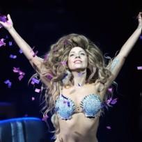Lady Gaga Shell Bikini
