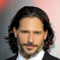 Joe manganiello up close