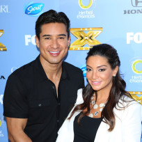 Mario lopez courtney mazza picture