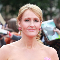 Jk rowling at london premiere