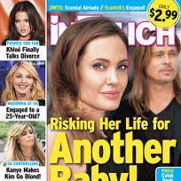 Angelina Jolie Risking Her Life