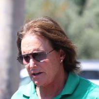 Bruce Jenner on the Street