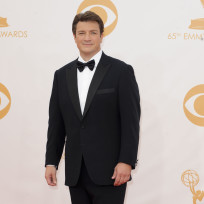 Nathan Fillion at the Emmys