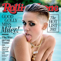 Miley cyrus topless cover