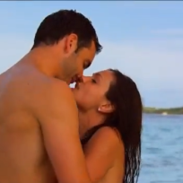Desiree Hartsock, Chris Siegfried Shirtless