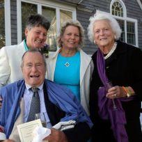 George hw bush same sex marriage certificate