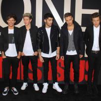 Harry Styles, Liam Payne, Zayn Malik, Niall Horan and Louis Tomlinson
