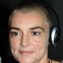 Sinead oconnor cheek tattoos