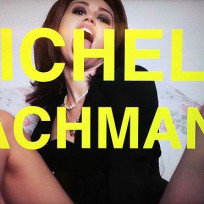 Miley Cyrus as Michele Bachmann