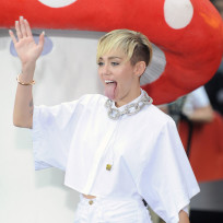 Miley Cyrus Today Show Pic