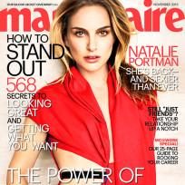 Natalie portman marie claire cover