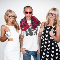 Paris, Nicky and Terry Richardson