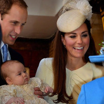 Kate william and prince george
