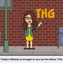 Bitstrips Brought To You By The Letters THG