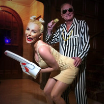 Hugh hefner and crystal harris halloween costumes