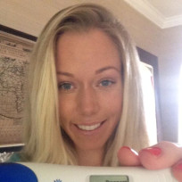 Kendra Wilkinson Pregnancy Test