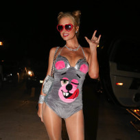 Who looked the best as Miley Cyrus on Halloween?