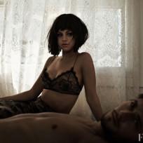 Selena gomez in a bra