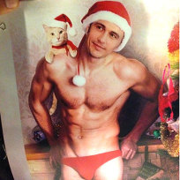 James Franco As Santa