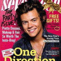Harry Styles Seventeen Cover