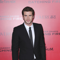 Liam Hemsworth at Los Angeles Premiere