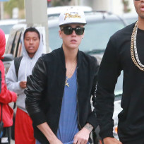 Justin Bieber in West Hollywood