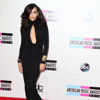 Naya-rivera-at-american-music-awards