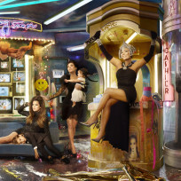 Kardashian Christmas Card Shot