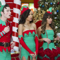 Glee Christmas Pic